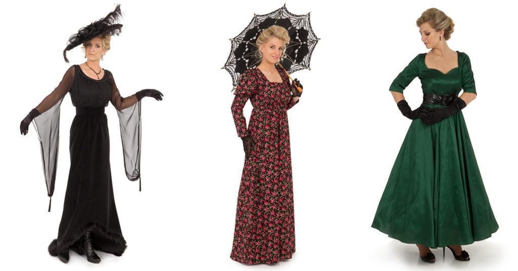 Liesa Joslin modeling Recollections fashions
