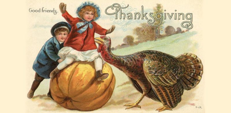 Victorian Thanksgiving greetings
