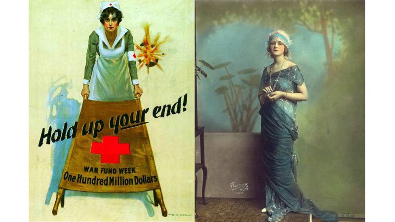 Women fashion World War 1