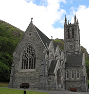 Kylemore Cathedral by Sabine Holzmann; Mitchell Henry's romance