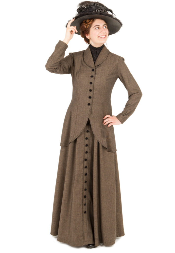 Frances Edwardian Herringbone Suit