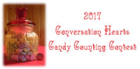 2017 Conversation Hearts Candy Counting Contest