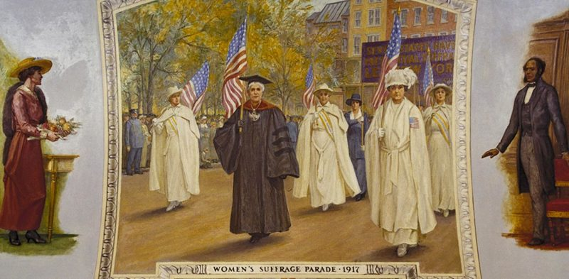 1917 Women's Suffrage Parade New York