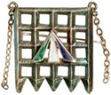 women's suffrage brooch