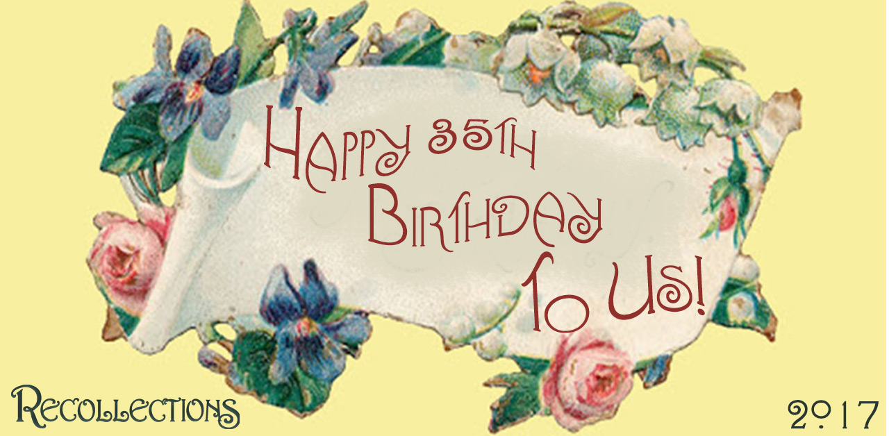 It's our birthday… Happy Birthday to us!