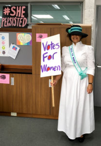 Erika S. Suffragette Halloween Photo entry