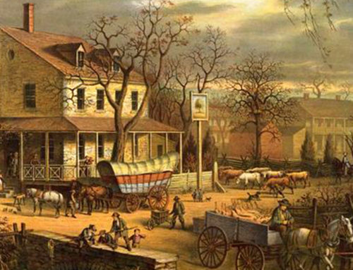 The Covered Wagon: shaper of American history