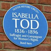 Isabella Tod commemorative-plaque