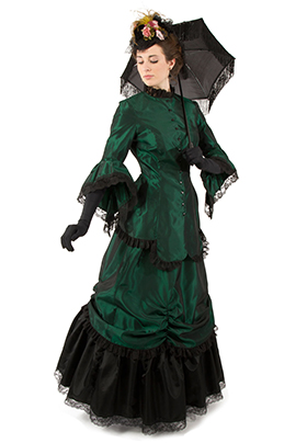 Corrina Victorian Bustle Dress