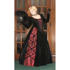 Noelle Victorian Ball Gown