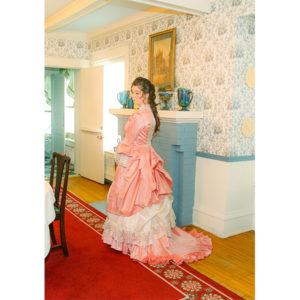 Perla Victorian Polonaise Bustle Dress