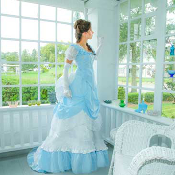 Wedding Traditions - Bella Rose Victorian Bustle Set