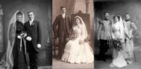 wedding traditions - vintage wedding photos