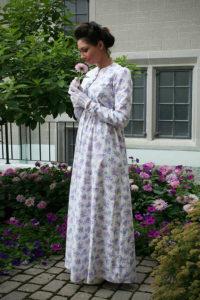 Mary Shelley - Wisteria Regency Era Dress