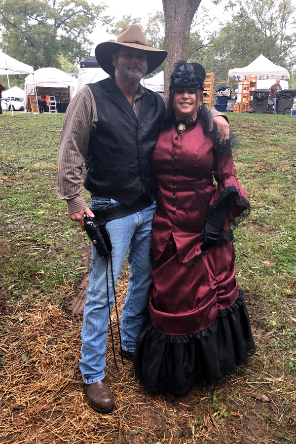 Halloween 2018 Photo Contest entry: Kathryn R. at the Cowboy Symposium