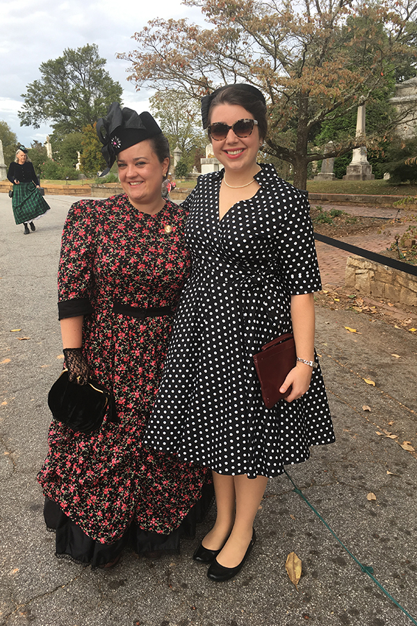 Halloween 2018 Photo Contest entry: Megan H. wearing our Georgie Victorian Dress