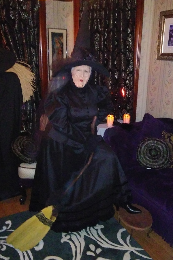 Halloween 2018 Photo Contest entry: Teresa S.D. wearing our Gwyneria Victorian Gown and Black Ankle Boot
