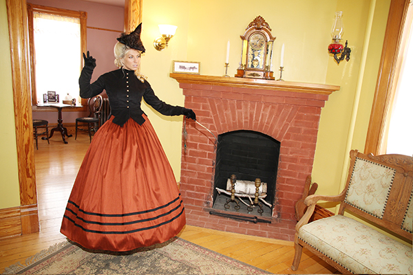 Halloween 2018 Caption This! Photo Contest - #2 At the Fireplace