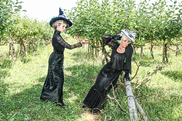 Halloween 2018 Caption This! Photo Contest - #4 In the Apple Orchard