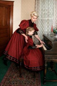 Adella Victorian Style Dress