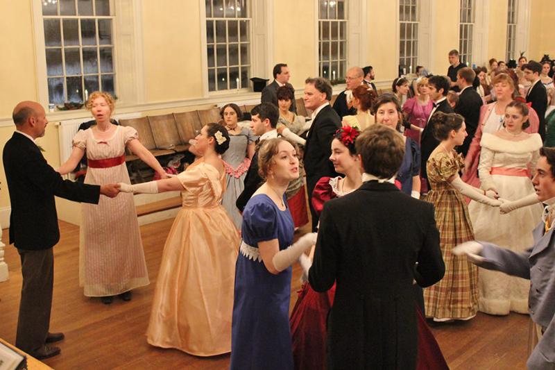 Vintage Dancers' Fezziwig Ball