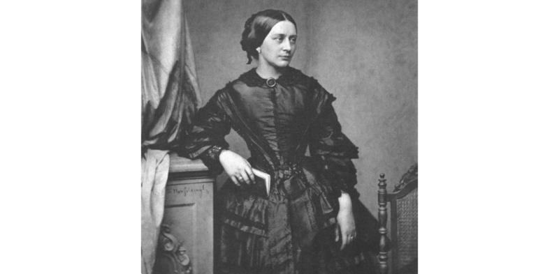 Clara Schumann portrait