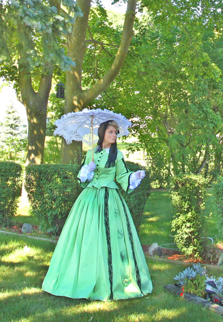 Margaret Civil War Victorian Styled Gown