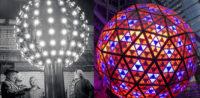 New Years Eve balls New York City