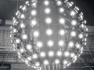 New York City New Year's Eve ball circa 1907