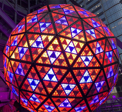 New York City New Years Eve Waterford Crystal ball