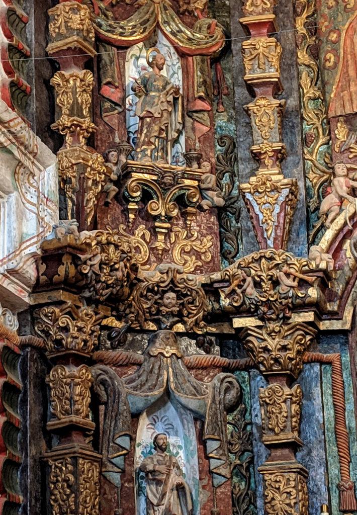 San Xavier Chapel Interior
