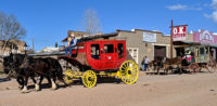 Tombstone Arizona, Stagecoach by the OK Corral