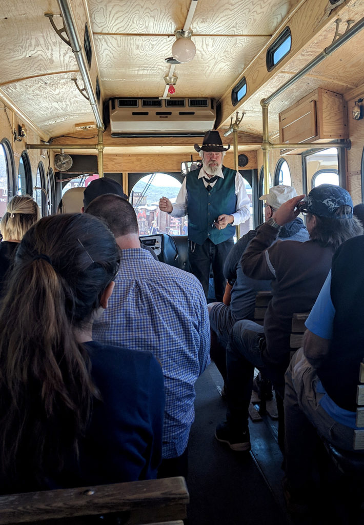 trolley tour of Tombstone