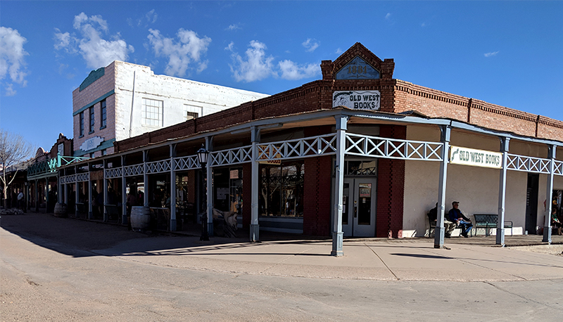 Walking downtown Tombstone