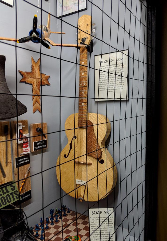 Prison art - Oddities Museum, Tombstone