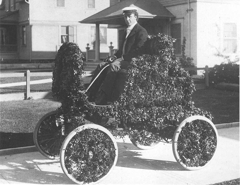 The first float created using an automobile