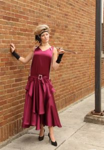 Flapper Dress with Accessories