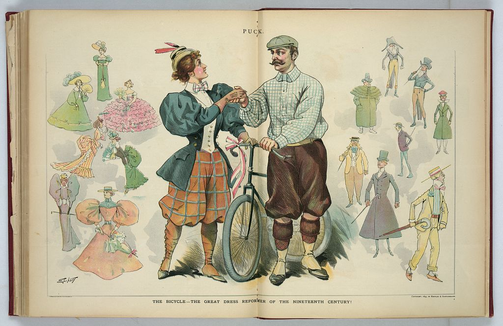 woman-wearing-bloomers-during-bicycle-craze