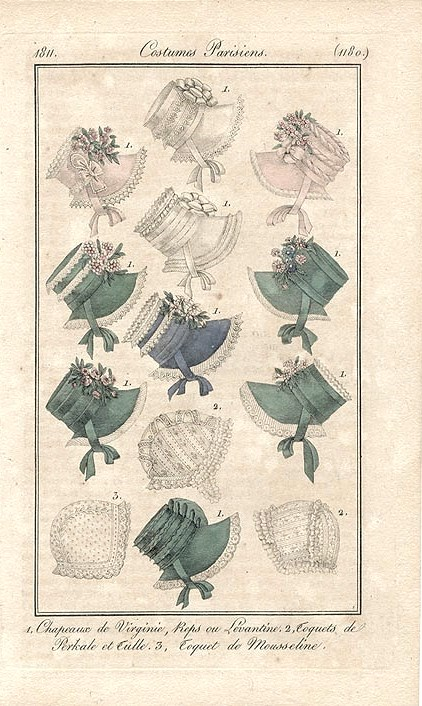Regency-bonnets