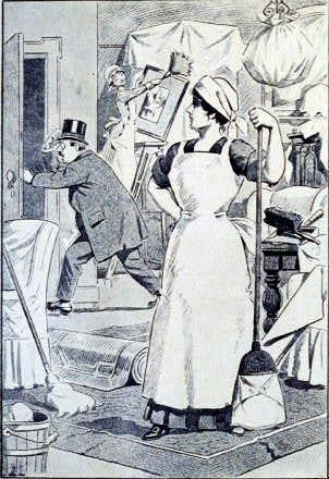 Victorian-spring-cleaning
