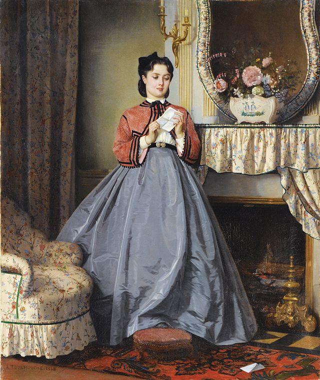 Auguste Toulmouche - The Love Letter