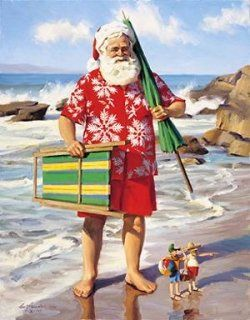 """""""Sun, Surf and Santa"""" by Tom Browning"""