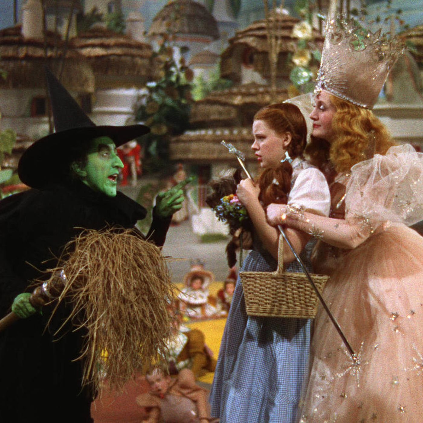 Wizard of Oz witches with Dorothy